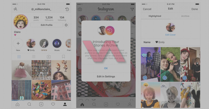 Instagram Hikayeyi Öne Çıkarma – Profile Sabitleme