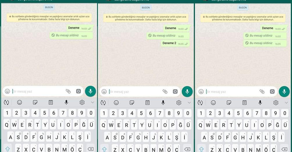 Whatsapp Silinen Mesajları Görmek Mümkün mü?