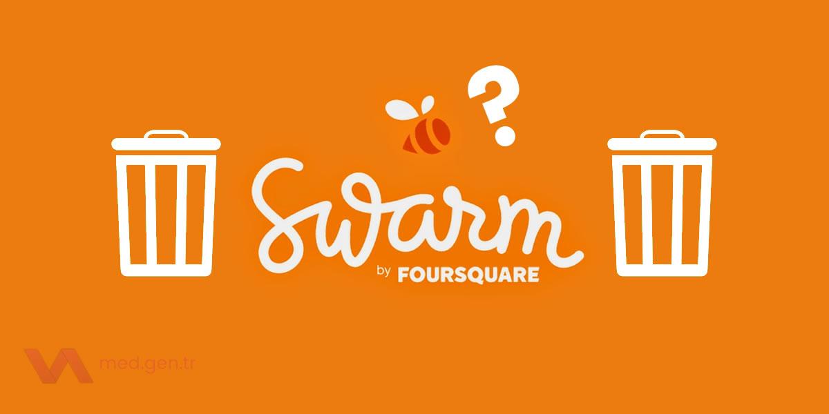 Swarm Dondurma, Swarm Hesap Silme Nasıl Yapılır?